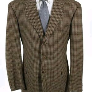 Hickey Freeman Collection Boardroom Men Blazer 43L